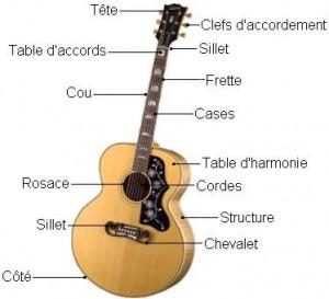 Structure guitare